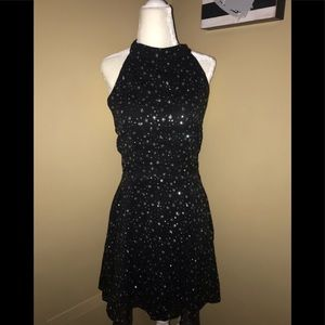 Topshop Dresses - Top shop black flowy dress NWT